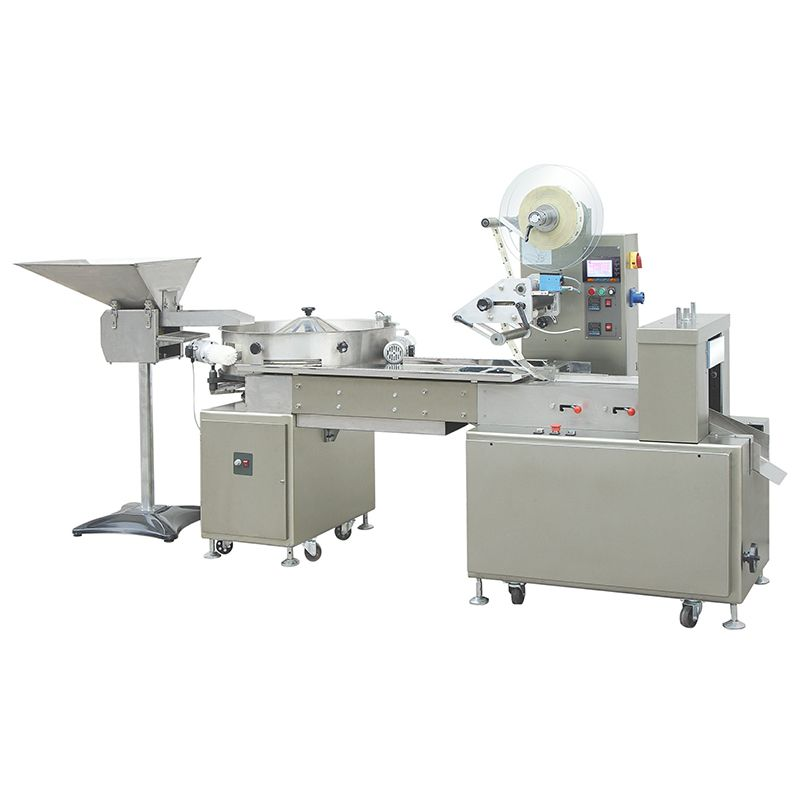 Chocolate And Candy Wrapping Machine