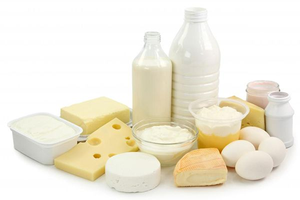 Mixed Products of Milk Processing Line