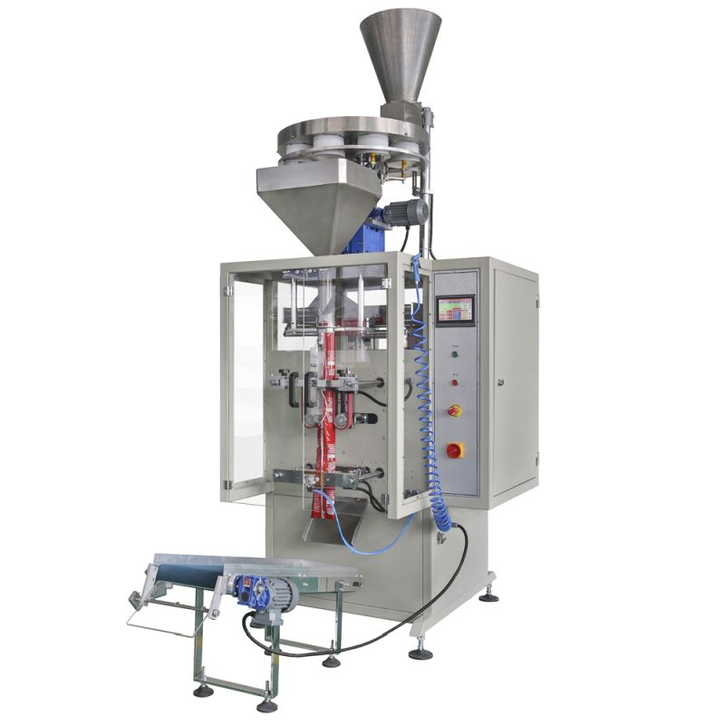 VOLUMETRIC SYSTEM VERTICAL PACKAGING MACHINE