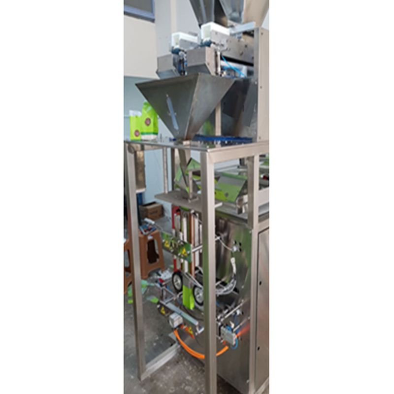 Vertical Packaging Machine with Vibration System